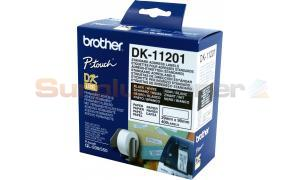 BROTHER QL-500 STANDARD ADRESS LABELS BLACK ON WHITE 29 MM X 90 MM (DK-11201)