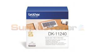 BROTHER QL-1050 BARCODE LABELS BLACK ON WHITE 102 MM X 51 MM (DK-11240)