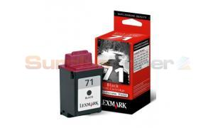 LEXMARK NO 71 PRINT CARTRIDGE BLACK (15M3010)