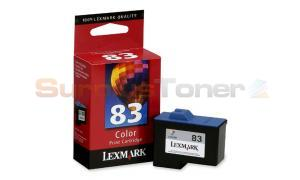 LEXMARK NO 83 PRINT CARTRIDGE COLOR (18L0235)
