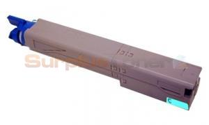 MEDIA SCIENCES TONER CARTRIDGE CYAN HY FOR OKIDATA C3400N (MDA40000)