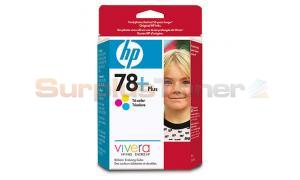 HP NO 78 PLUS INK CARTRIDGE TRI-COLOR (CB277AC)