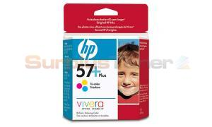 HP NO 57 PLUS INKJET CARTRIDGE TRI-COLOR (CB278AC#140)