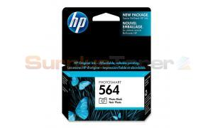 HP NO 564 PHOTOSMART INK CTG PHOTO BLACK (CB317WC#140)