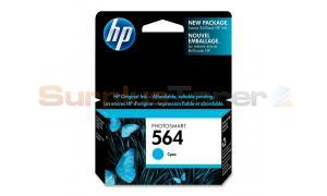 HP NO 564 PHOTOSMART INK CTG CYAN (CB318WC#140)