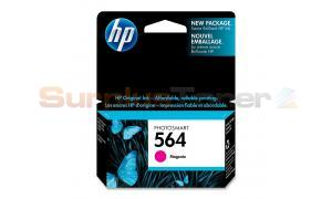 HP NO 564 PHOTOSMART INK CTG MAGENTA (CB319WC#140)