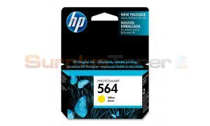 HP NO 564 PHOTOSMART INK CTG YELLOW (CB320WC#140)