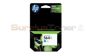 HP NO 564XL PHOTOSMART INK CART CYAN (CB323WC#140)