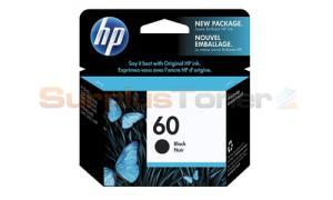 HP NO 60 INK CARTRIDGE BLACK (CC640WC#140)