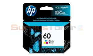 HP NO 60 INK CARTRIDGE TRI-COLOR (CC643WC#140)