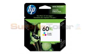 HP NO 60XL INK CARTRIDGE TRI-COLOR (CC644WC#140)