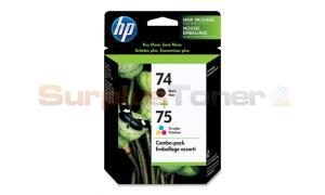 HP NO 74 75 INK CART CMYK COMBO PACK (CC659FC#140)