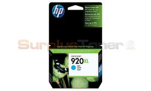 HP NO 920XL OFFICEJET INK CARTRIDGE CYAN (CD972AC#140)