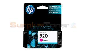 HP NO 920 OFFICEJET INK CARTRIDGE MAGENTA (CH635AC#140)