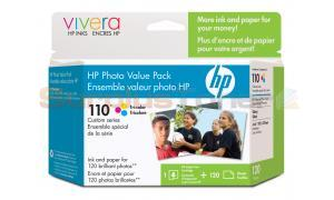 HP NO 110 INK TRI-COLOR PHOTO VALUE PACK (Q8700AC)