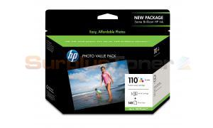 HP NO 110 INK TRI-COLOR PHOTO VALUE PACK (Q8700BC#140)