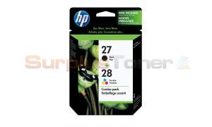 HP NO 27 28 INKJET CARTRIDGE CMYK COMBO PACK (C9323FC#140)