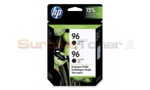 HP NO 96 INKJET CARTRIDGE BLACK TWIN PACK (C9348FC#140)