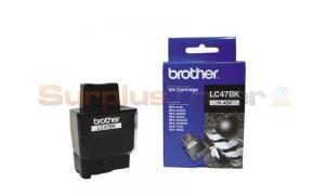 BROTHER MFC-3240C INK CARTRIDGE BLACK (LC-47BK)
