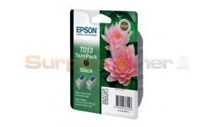 EPSON STYLUS COLOR 480 INK CTG BLACK TWIN PACK (C13T01340210)