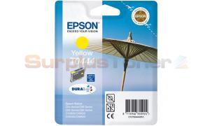 EPSON STYLUS CX6400 INK CARTRIDGE YELLOW HY (C13T04444010)