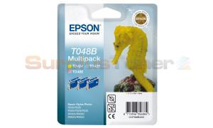 EPSON STYLUS RX500 INK CTG COLOUR TRI PACK (C13T048B4010)