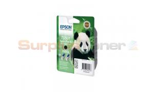 EPSON STYLUS 700 INK CARTRIDGE BLACK TWIN PACK (C13T05014210)