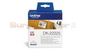 BROTHER QL-500 CONTINUOUS PAPER TAPE BLACK ON WHITE 38 MM (DK-22225)