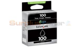 LEXMARK 100 INK CARTRIDGE BLACK RP (14N0820E)