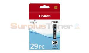 CANON PGI-29PC INK CARTRIDGE PHOTO CYAN (4876B001)