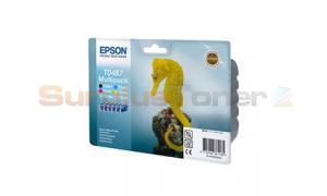EPSON STYLUS PHOTO R200 INK CMYK LC LM MULTIPACK (C13T04874020)