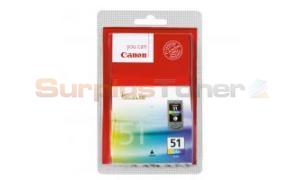 CANON CL-51 INK CARTRIDGE COLOR (0618B007)