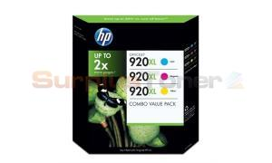 HP NO 920XL COMBO VALUE PACK CMY (SD532AE)