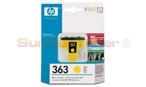HP NO 363 INK CARTRIDGE YELLOW (C8773EE#301)