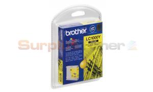 BROTHER DCP-130C INK CARTRIDGE YELLOW (LC-1000YBP)