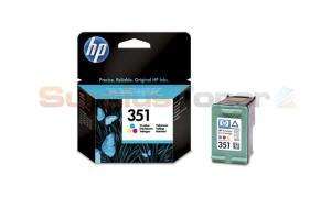 HP NO 351 INKJET PRINT CARTRIDGE TRI-COLOR (CB337EE#301)