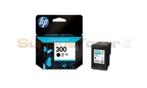 HP NO 300 INK CARTRIDGE BLACK (CC640EE#301)