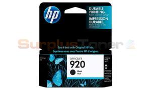 HP NO 920 INK CARTRIDGE BLACK (CD971AE#301)