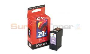 LEXMARK NO 29A PRINT CARTRIDGE COLOR (18C1256)