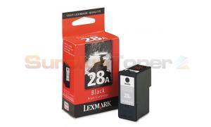 LEXMARK NO 28A PRINT CARTRIDGE BLACK (18C1246)