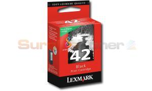 LEXMARK NO 42 RP PRINT CARTRIDGE BLACK (18Y0439)