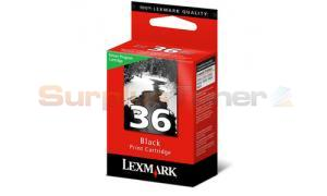 LEXMARK NO 36 RP PRINT CARTRIDGE BLACK (18C2164)
