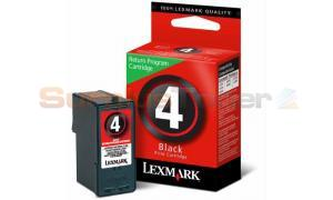 LEXMARK NO 4 RP PRINT CARTRIDGE BLACK (18C2315)