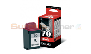LEXMARK 3200 NO 70 PRINT CARTRIDGE BLACK (12A1970E)