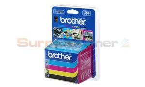BROTHER DCP-110C INK VALUE PACK (CMYK)+BP61GLP (LC-900VB1P)