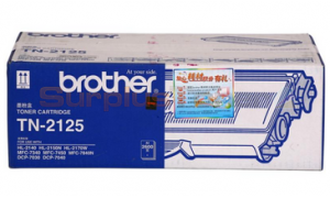 BROTHER DCP-7040 TONER BLACK 2.6K (TN-2125)