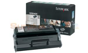 LEXMARK E220 TONER CARTRIDGE BLACK RP (12S0400)