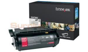 LEXMARK T632 TONER CARTRIDGE BLACK 32K (12A7365)