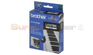 BROTHER MFC-3360C INK CARTRIDGE BLACK (LC-57BK)