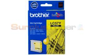 BROTHER MFC-3360C INK CARTRIDGE YELLOW (LC-57Y)